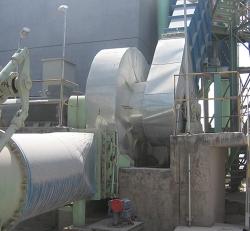 新型立式石灰窑废气风机