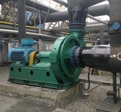 电石炉煤气加压风机